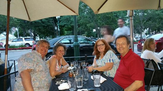 Compari's on the Park : Great food and fun reunion with long time dear friends.