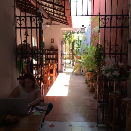 Hotel Casa Carmita: Accueil