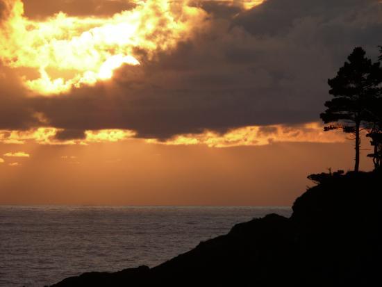 Depoe Bay, OR: Sunset