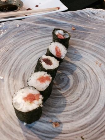 Restaurant Masami : Om dette er bra, prøv et vanlig take away sted i Oslo...