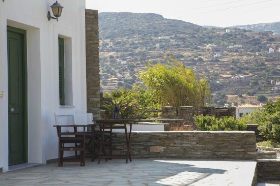 Ormos Korthiou, Griechenland: Outdoor area