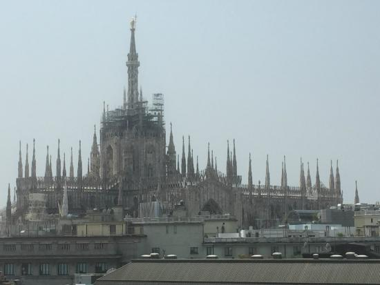 Duomo Visto Da Terrazza Do Boscolo Milano Picture Of