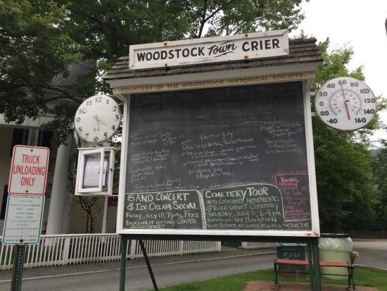 Woodstock Town Crier: Woodstock, VT Town Crier Board
