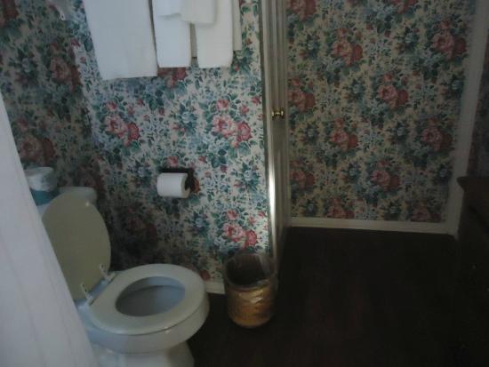 Bath Street Inn: The bathroom