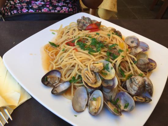 ottimi primi piatti di pesce nn che abbondanti quello che
