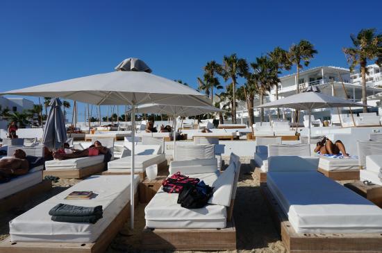 Mykonos Blanc Hotel Pool Beach Area