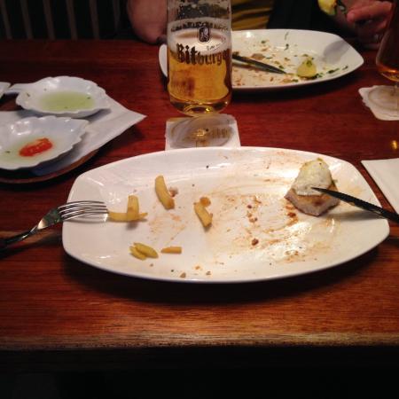 Bei Ulla: A Wiener Schnitzel is always a winner!