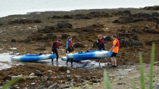Isle of Coll, UK: Kayaking day