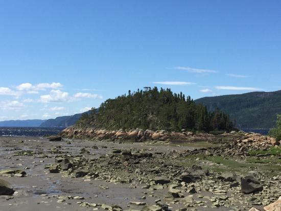 Site recreopatrimonial de la riviere Petit-Saguenay : Jolie ballade à faire en voiture,