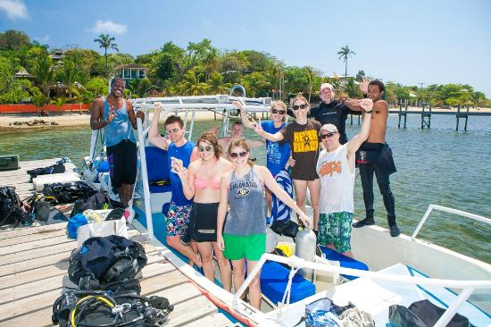 Tranquilseas Eco Lodge and Dive Center: Where are you diving today - Tranquilseas Divers!