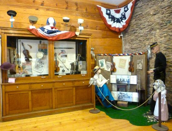 Northern Mariposa County History Center: Music was an important form of entertainment during the 1800's.