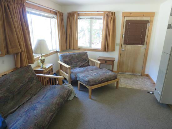 Stehekin, WA: Room 28 living room
