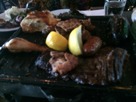 1810 Argentinean Restaurant : Parrillada Mixta