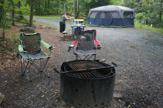 Promised Land State Park: Campsite 123