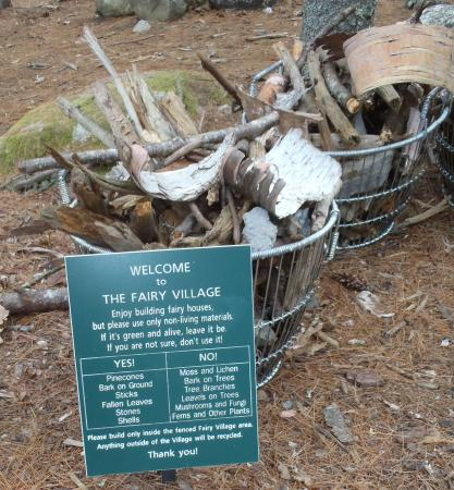 Coastal Maine Botanical Gardens: Fairy House Directions And Baskets Of  Materials To Use