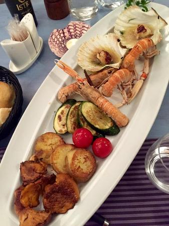 Municipium : Some delicious seafood extras to go with the fresh fish main