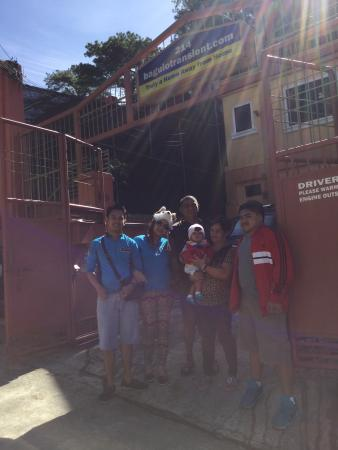 BaguioTransient House: in front of the house