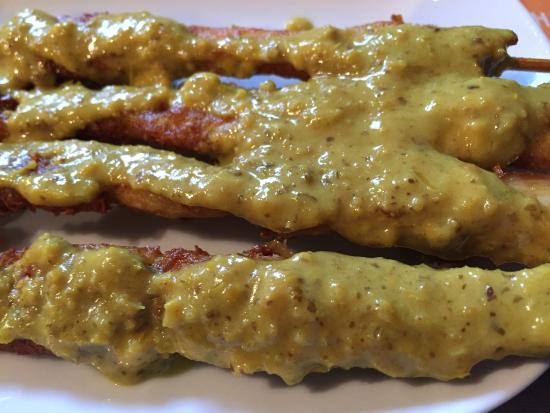 Viet-Thai Restaurant: Ga Que (Satay skewer)