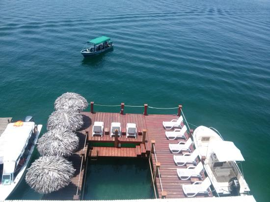 Hotel Bocas Town : Beatiful sea view from private balcony
