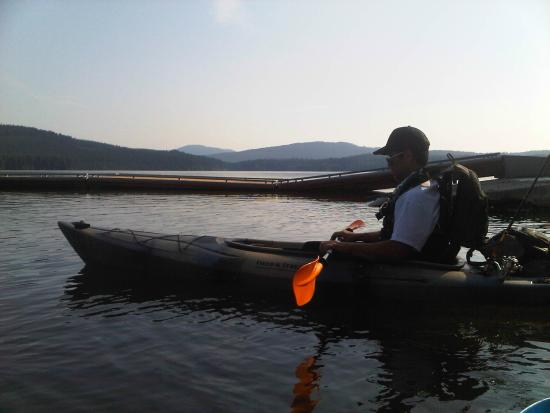 Hood River, Όρεγκον: Kayaking on Timothy Lake