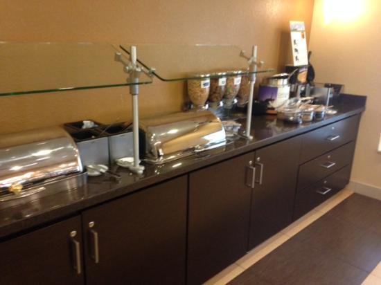Residence Inn Austin Northwest/Arboretum: Breakfast area