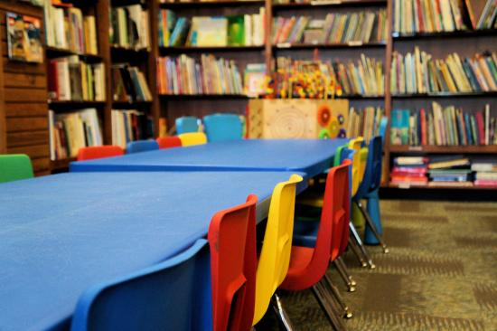 Railroad Book Depot: Kids Table for Arts & Crafts