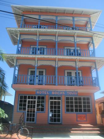 Hotel Bocas Town: Main entrance