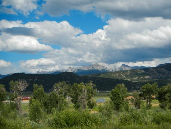 Country Lodge: Near Ridgeway, Colorado, location for True Grit
