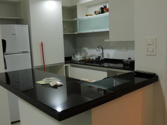 Arenas del Mar Apartments: Cocina