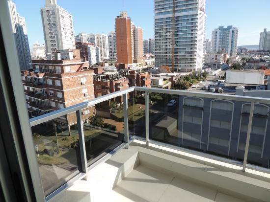 Arenas del Mar Apartments : Vista desde el balcón