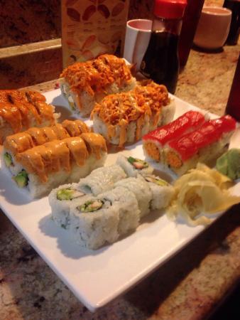 Siracusa, estado de Nueva York: Half price sushi on Wed!