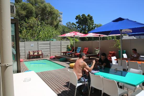 The Backyard Cape Town backyard communal space - picture of never at home cape town, cape