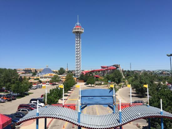 Elitch Gardens Theme Park Picture Of Elitch Gardens