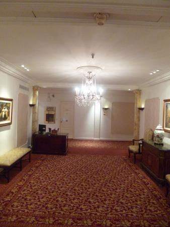 """At the Second Floor hall at """"Alvear Palace Hotel"""" in Buenos Aires"""