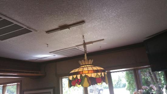 Lakeland, MN: New ceiling on a VERY old building, nice!  Good job!