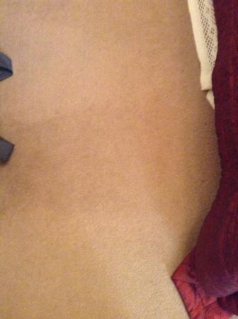 Langhill Holiday Cottages : Stain on Bedroom Carpet