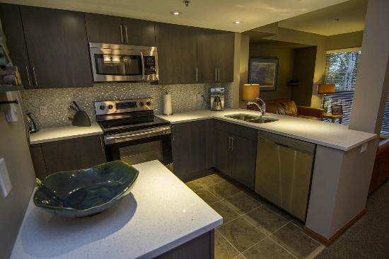 Stoney Creek Resort: Fully equipped kitchens