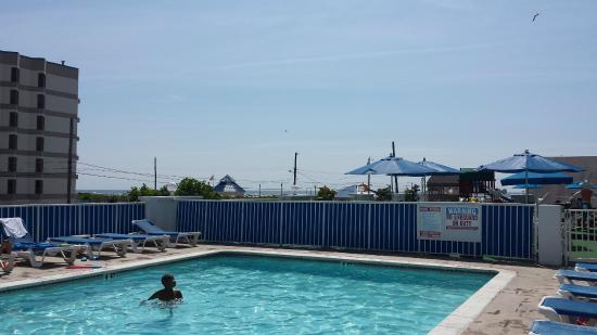 Admiral Resort Motel: Pool View