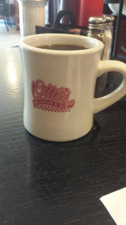 Otto's Breakfast Deli: An Old School Coffee Mug at Otto's