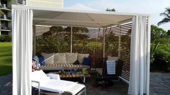 Waikoloa Beach Marriott Resort Spa Large Cabana Al