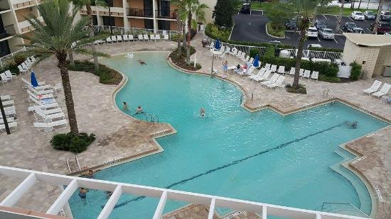 piscina picture of holiday inn orlando disney springs. Black Bedroom Furniture Sets. Home Design Ideas