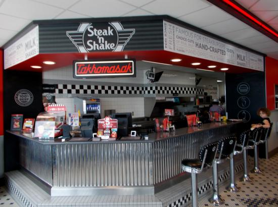 Decor picture of steak n shake richmond tripadvisor
