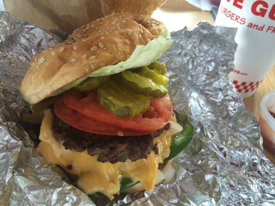 Five Guys Southpark Review Of Five Guys Burgers And