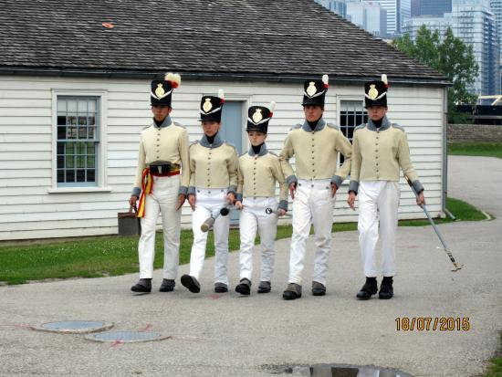 Fort York National Historic Site: Marching at Fort York