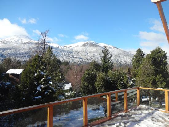 Antuquelen Hosteria Patagonica: Balcon de sala de juegos