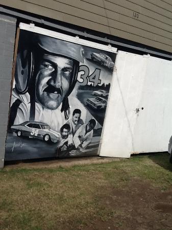 Courtyard Danville : Wendell Scott- NASA driver exhibit