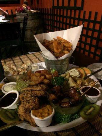 Rustic Cafe and Tapa's: A selection of $10 & $15 Tapas