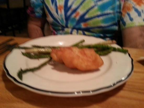 New Oxford, Pensylwania: Cod DINNER w/ Asparagus BEFORE EATING A BITE