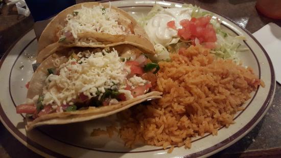 Cancun Mexican Restaurant: Exotic Shrimp Taco