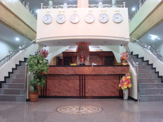 Bagansiapiapi, Indonesia: Hotel Lobby